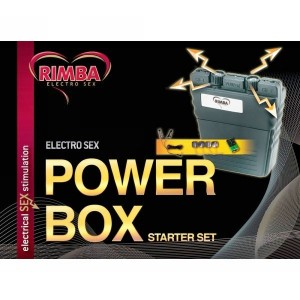 ЭЛЕКТРОСТИМУЛЯТОР RIMBA ELECTRO SEX POWER BOX STARTER SET ДВУХКАНАЛЬНЫЙ